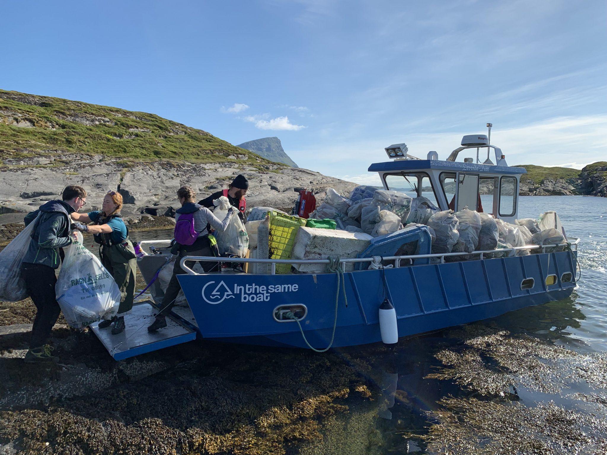 Venezu, Norges beste møtebooker, støtter In The Same Boat i deres miljøjobb
