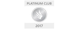 Platinum Club - Microsoft sin høyeste utmerkelse for beste medarbeider - hun var rekruttert fra Venezu