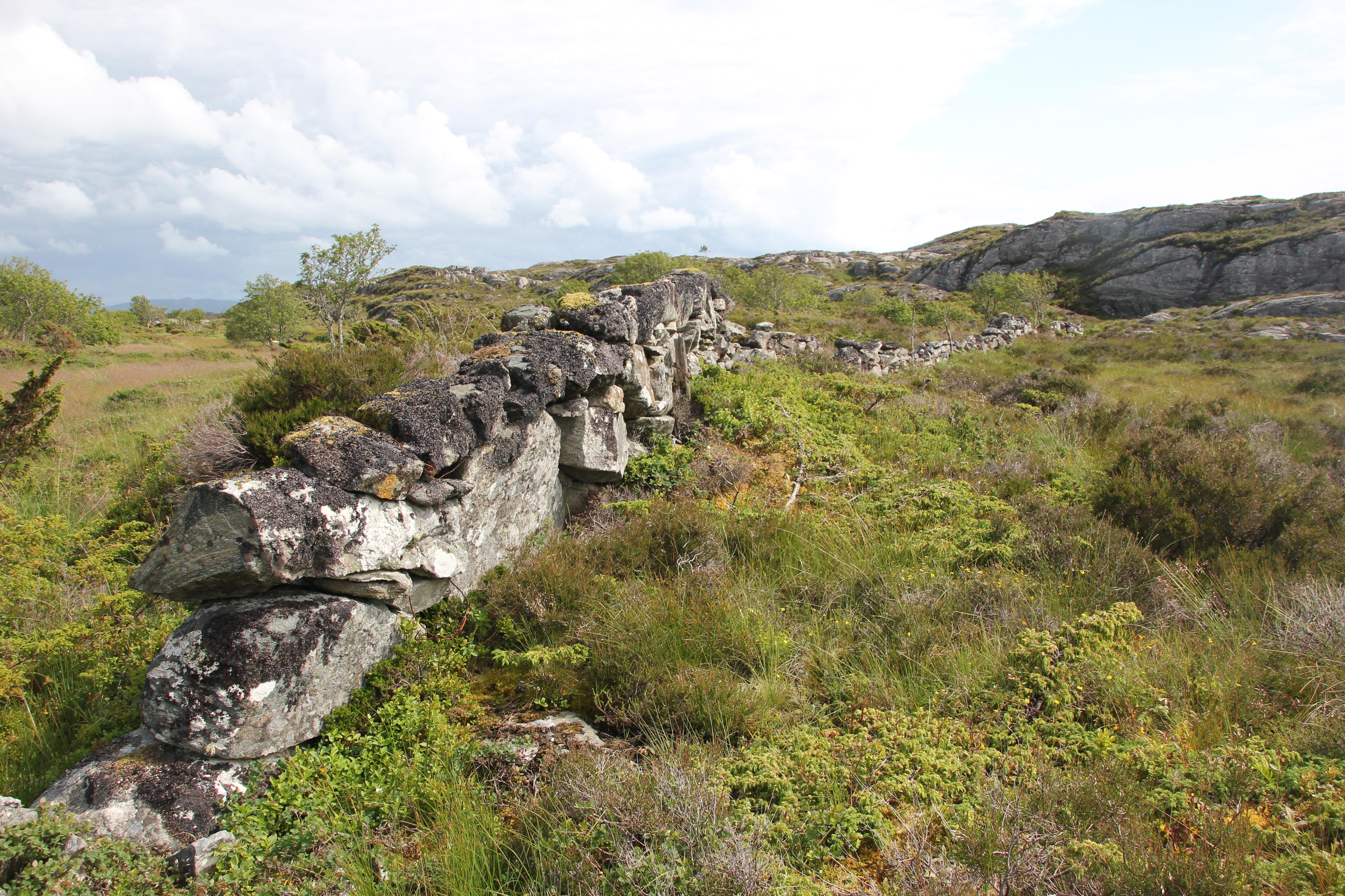 Steingarden på Kversøyna og det å selge og ha arbeidsmoral